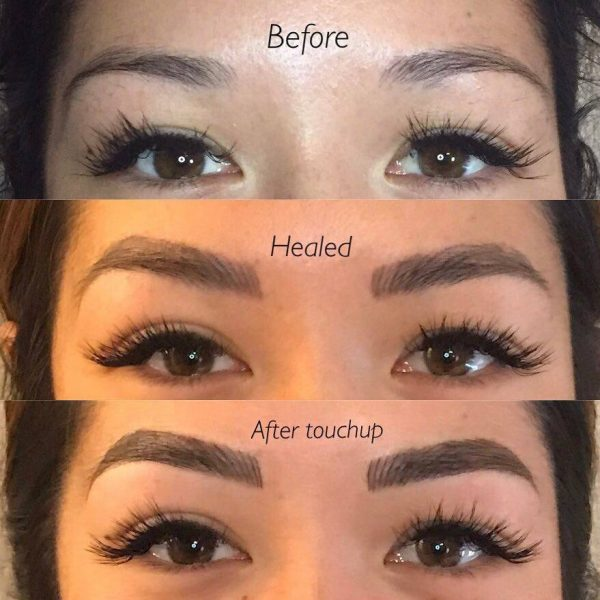 Before And After Microblading Training Courses Nz